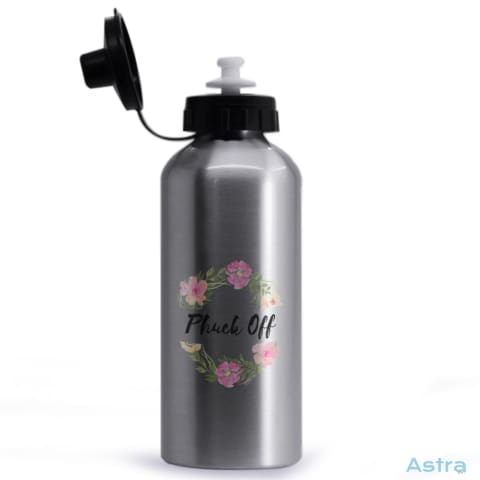 Phuck Off 20Oz Aluminum Water Bottle Silver Drinkware 10-20 Aluminum Comic Drinkware Fathers-Day $14.99 Astraest.com: Astraest