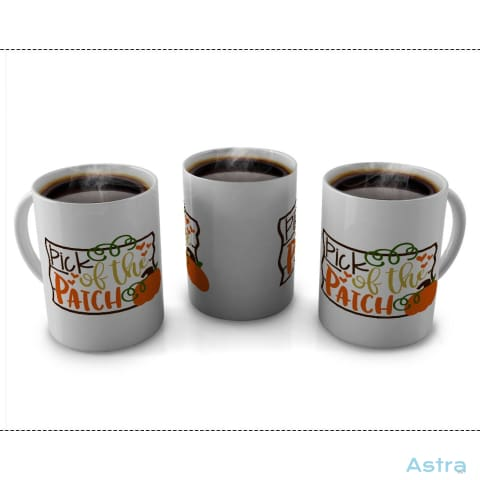 Pick Of The Patch 11Oz Coffee Mug Drinkware 10-20 Autumn Blue Ceramic Drinkware $14.99 Astraest.com: Astraest