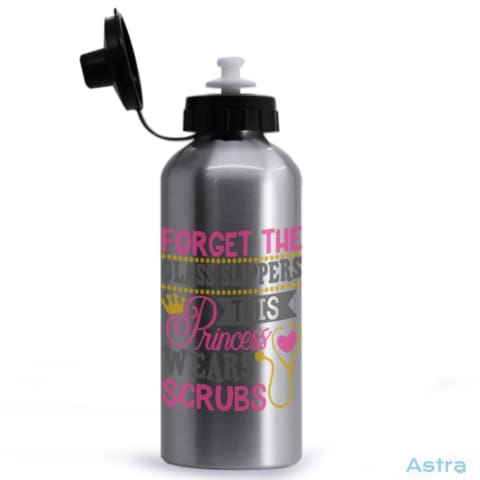 Princess Wears Scrubs 20Oz Aluminum Water Bottle Silver Drinkware 10-20 Aluminum Drinkware Mothers-Day Nurse $17.99 Astraest.com: Astraest