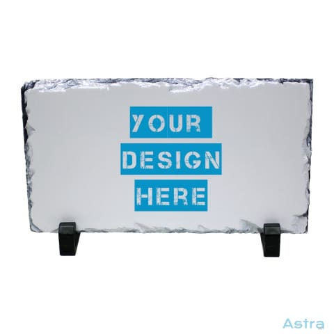 Rectangle Photo Slate Custom Home Decor 10-20 Blank Custom_Home Design-Your-Own-1 Dyoh $16.95 Astraest.com: Astraest