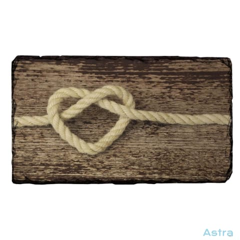 Rope Heart Rectangle Photo Slate Home Decor 10-20 Birthday Girly Homedecor Household-1 $14.99 Astraest.com: Astraest