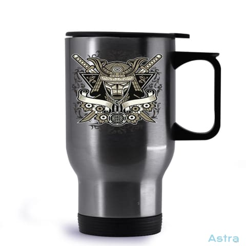 Samurai 14Oz Stainless Steel Travel Mug Drinkware Drinkware Fathers-Day Gaming Mug Mugs $19.99 Astraest.com: Astraest