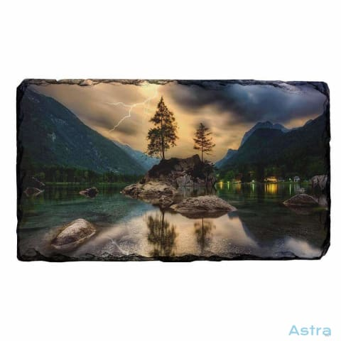 Stormy Rectangle Photo Slate Home Decor 10-20 Homedecor Household-1 Nature Photo-Slate $14.99 Astraest.com: Astraest