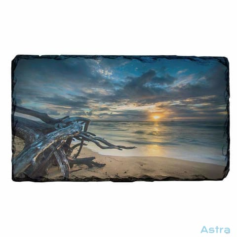 Sunset On The Beach Rectangle Photo Slate Home Decor 10-20 Homedecor Household-1 Photo-Slate Photo-Slates $16.95 Astraest.com: Astraest