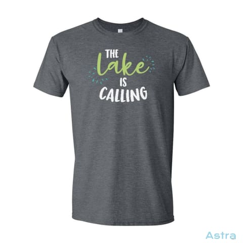 The Lake Is Calling Heavy Cotton Long Sleeve T-Shirt Apparel Apparel Black Clothing Graphite-Heather Long-Sleeve $23.95 Astraest.com: