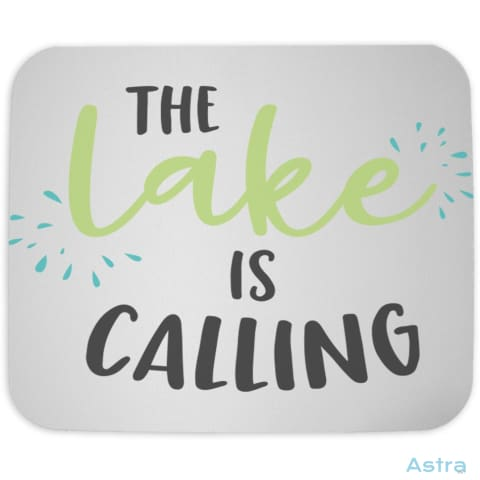 The Lake Is Calling Mouse Pad Home Decor 10-20 Cloth Fathers-Day Homedecor Household $10.95 Astraest.com: Astraest