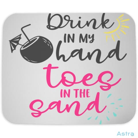 Toes In The Sand Mouse Pad Home Decor Cloth Homedecor Household Household-1 Mothers-Day $9.99 Astraest.com: Astraest