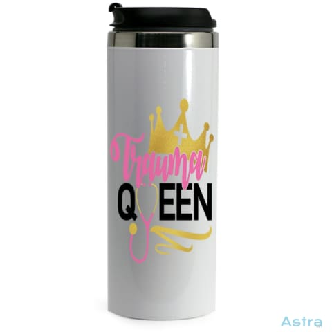 Trauma Queen 14Oz Stainless Steel Bottle Drinkware 20-30 Comic Drinkware Mothers-Day Nurse $24.99 Astraest.com: Astraest