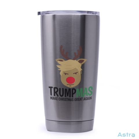 Trumpmas 20Oz Stainless Steel Tumbler Drinkware 20-30 Holiday Stainless Stainless-Steel Stainsteel $21.99 Astraest.com: Astraest