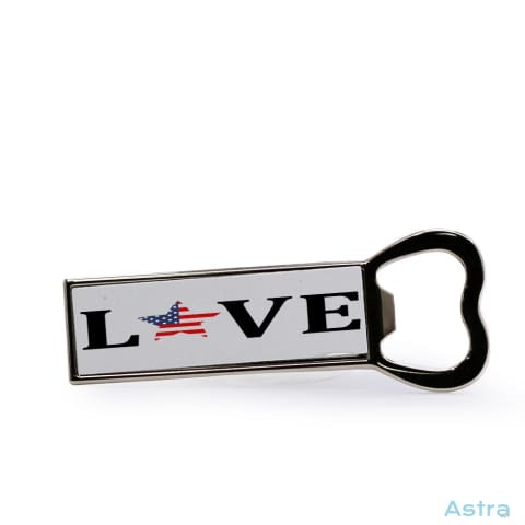 Usa Love Bottle Opener Fridge Magnet Home Decor Bottle-Opener Forth Homedecor Household-1 Independence-Day $12.95 Astraest.com: Astraest
