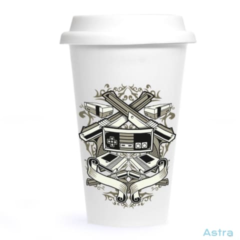 Video Games Ceramic Travel Tumbler Drinkware 20-30 Ceramic Drinkware Fathers-Day Gaming $24.99 Astraest.com: Astraest