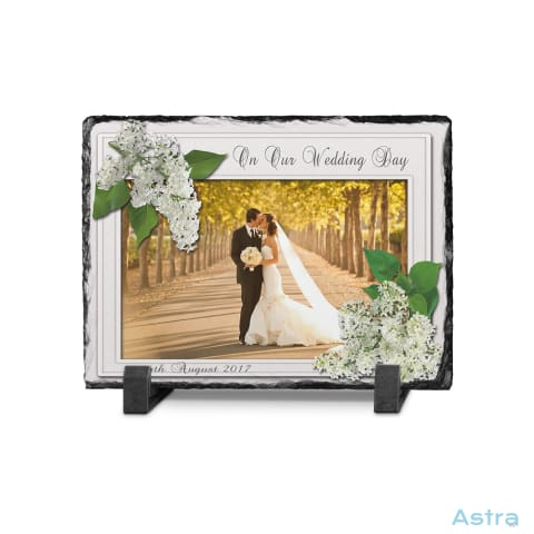 Wedding Frame Rectangle Photo Slate Custom Home Decor 10-20 Blank Custom_Home Design-Your-Own-1 Dyoh $16.95 Astraest.com: Astraest