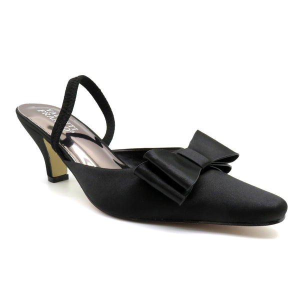 Valenti Franco Black Slingback 35318 Fall 2019