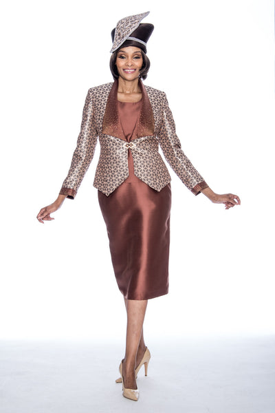 Susanna Bronze 3pc Suit S3874 Markdown 2019