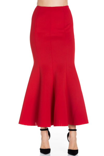 Perspective Red Mermaid Skirt S002 Basic 2020