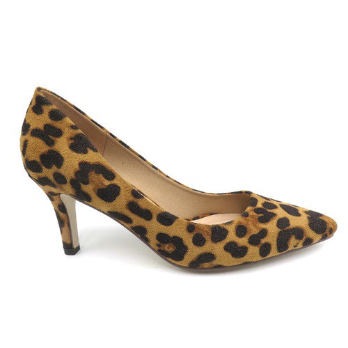 Pierre Dumas Leopard Pump Shoe 86689 - BLOOM-1 Spring 2020