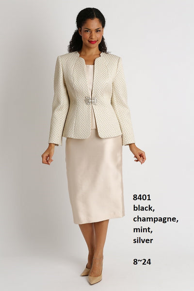 Diana Suit 8401 Champagne Fall 2019