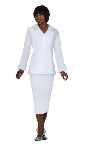 Regal Robes GMI White Long Sleeve Usher Skirt Set G12777 Basic 2020