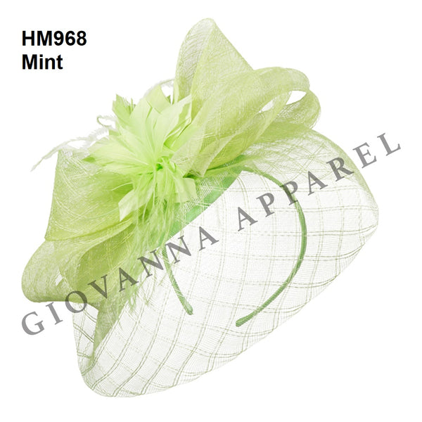 Giovanna Mint HM968 Fascinator Hat Spring 2020