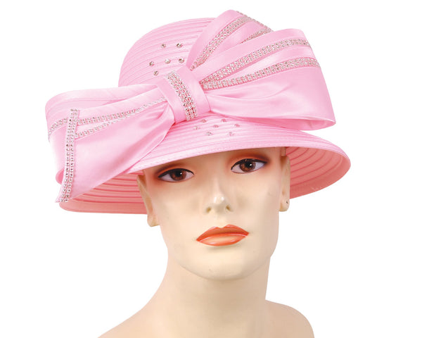 Mr Hi Pink Fashion Hat 43-HL132 Spring 2020