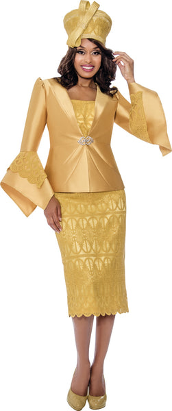 GMI Gold 2pc Suit G8272 Fall 2020