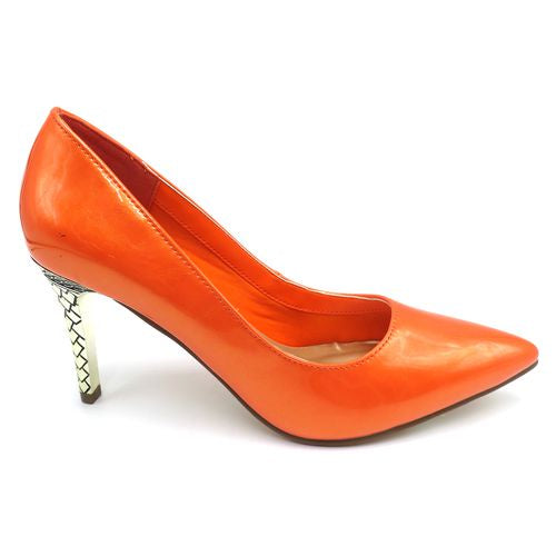 Pierre Dumas Orange Pump 87833 - Dimas - 2 Spring 2020