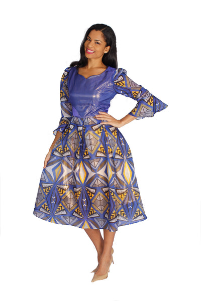 Diana Multi Royal Dress 8542 Holiday 2019