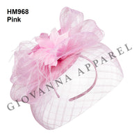 Giovanna Pink HM968 Fascinator Hat Spring 2020