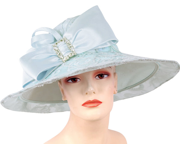 Ms Divine Light Blue Fashion Hat 6-HL135 Spring 2020