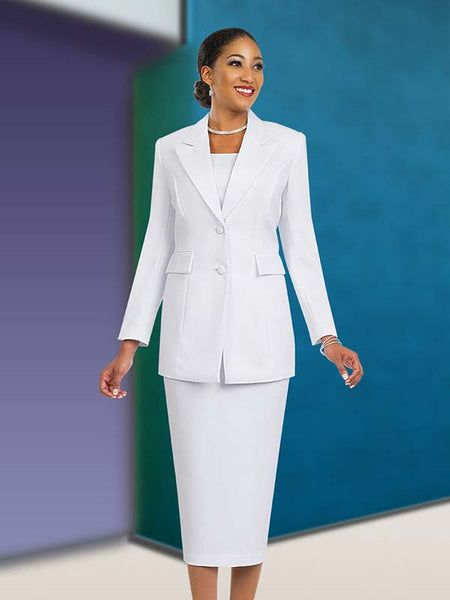 BenMarc White Usher Suit 2299 Basic 2020