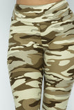 Desert Camouflage Plus Size One Size High Waist Leggings Fall 2020