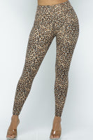 Leopard Design Plus Size One Size High Waist Leggings Fall 2020