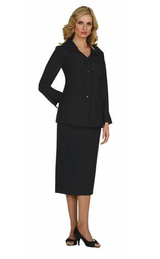 Regal Robes GMI Black Long Sleeve Usher Skirt Set G12777 Basic 2020