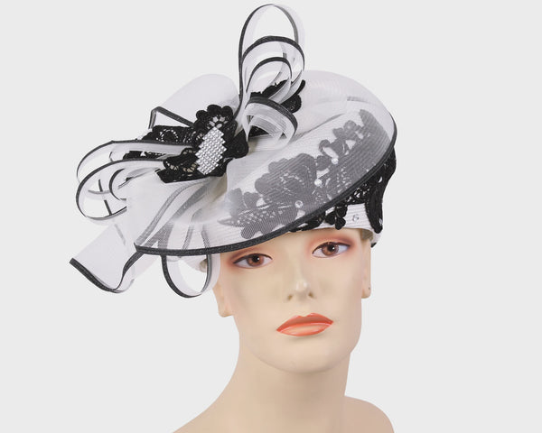 Mr Hi White/Black Fashion Hat 12-1032 Spring 2020