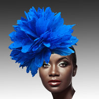 Whittall & Shon Royal Fireworks of  Feather Fascinator Hat FA2280 DAZZLE Fall 2019