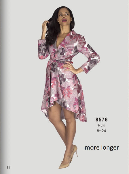Diana Multi Color Dress 8576 Fall 2020