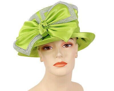 Ms Divine Lime Fashion Hat 31-HL37 Spring 2020