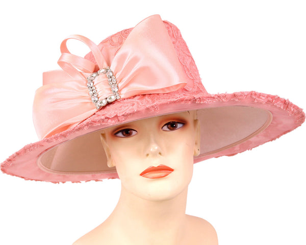 Ms Divine Pink Fashion Hat 6-HL135 Spring 2020