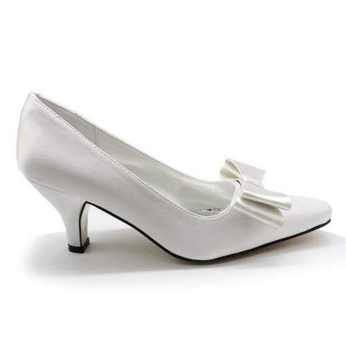 Valenti Franco White Pump 35324 - RALLY-7 Fall 2019