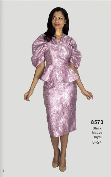 Diana Mauve Dress 8573 Fall 2020