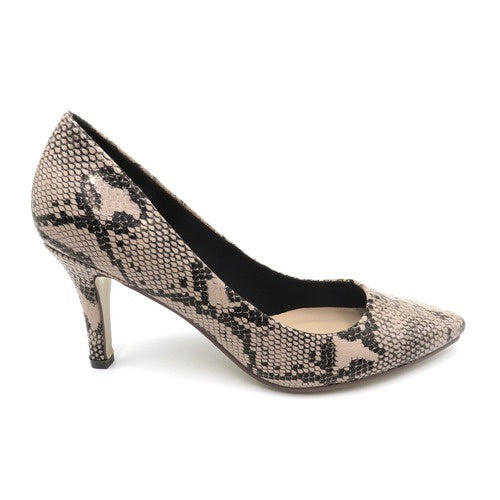 Pierre Dumas Taupe Pump Shoe 86689 - BLOOM-1 Spring 2020