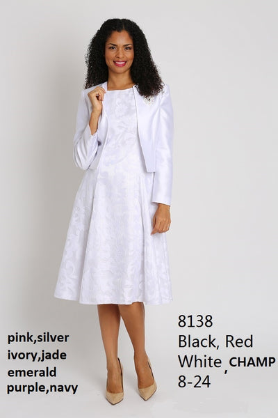 Diana Ivory Jacket Dress 8138 Spring 2020