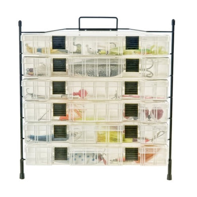 Organized Fishing Modular 6 Cpcty Utilty Bx Wire Rck NFR-006