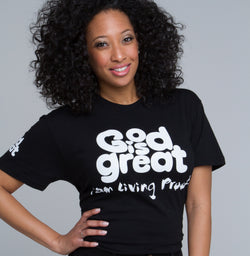 God is Great Apparel Tee for Women