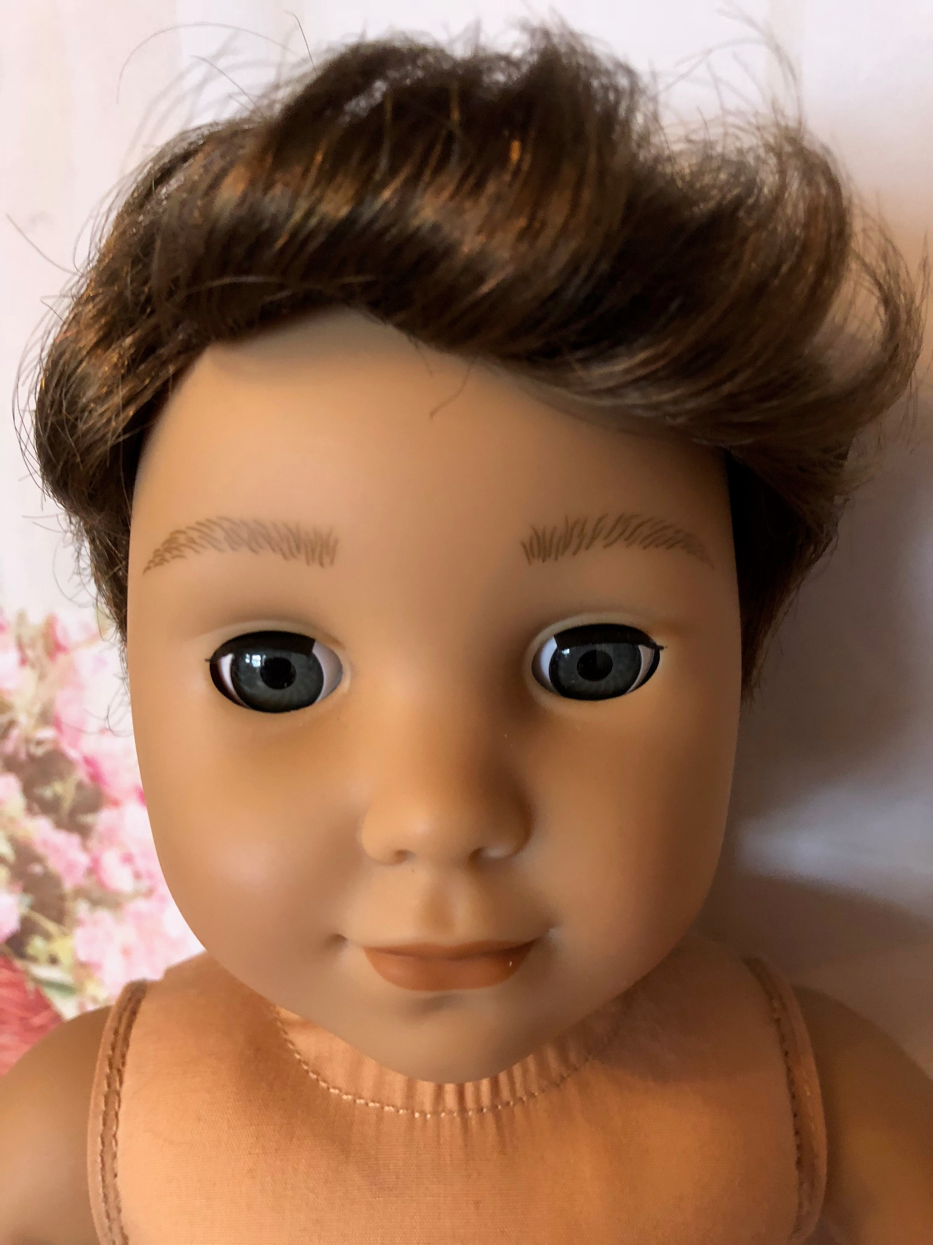 "18"" American Girl Boy Doll Logan"