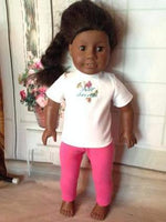"18"" American Girl Solid Color Leggings"