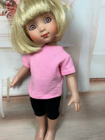 "10"" Patsy/Ann Estelle Solid Color Short Sleeve T-shirt"