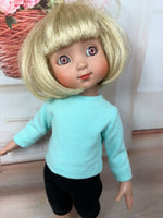 "10"" Patsy/Ann Estelle Solid Color Long Sleeve T-shirt"