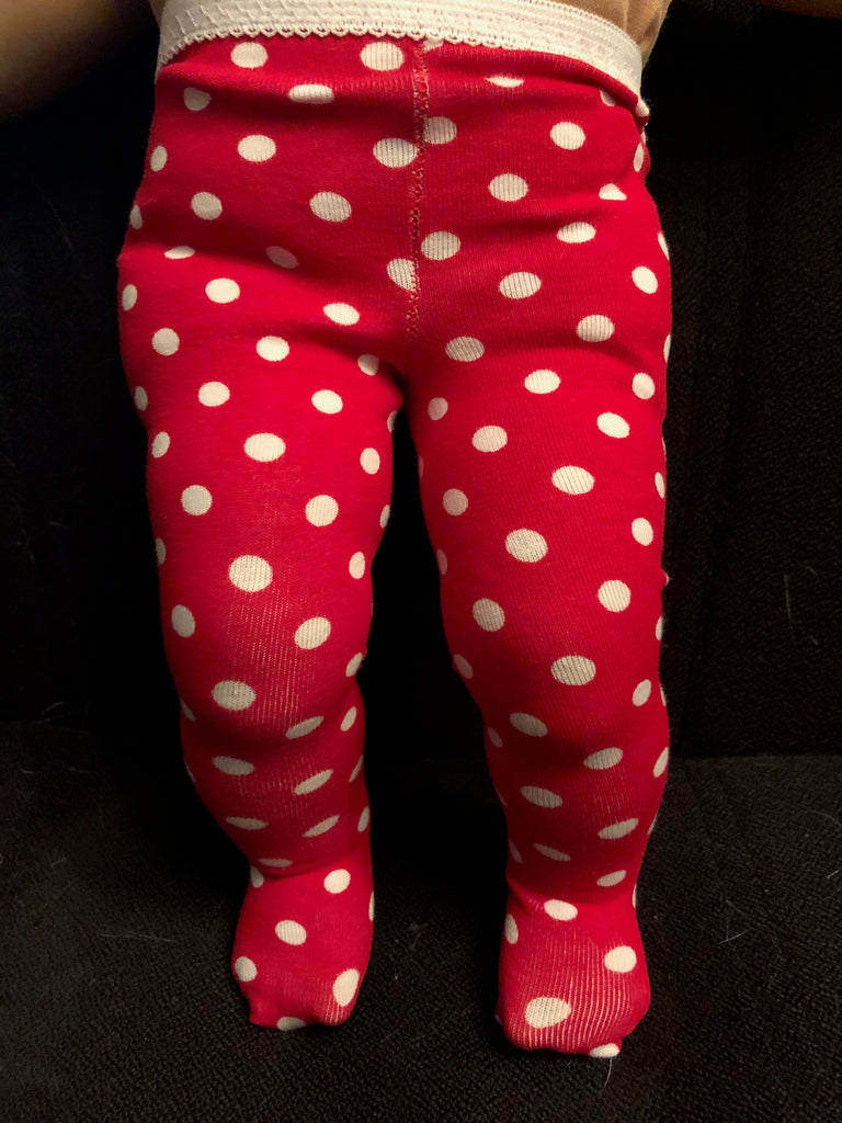 "15"" Bitty Baby Christmas Tights"