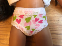 "14"" Hearts for Hearts Undies"